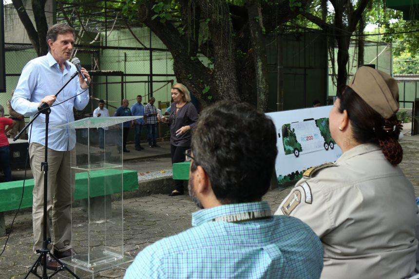 Inauguração da nova sede da Fundação RioZoo