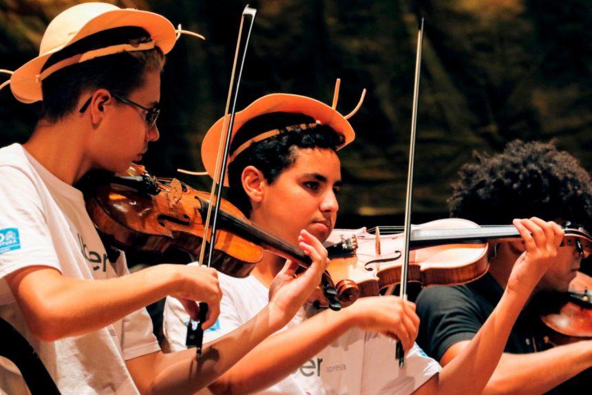Com participação de Moraes Moreira, alunos das escolas municipais fazem epopeia musical nordestina