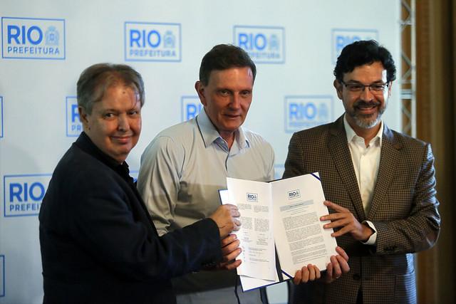 Prefeitura assina parceria com ONU para o programa Territórios Sociais