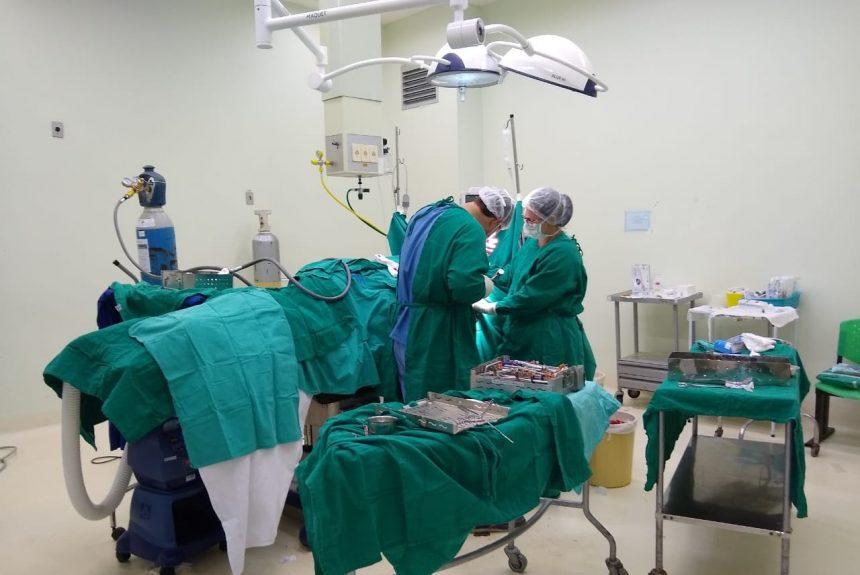 Mutirão ortopédico supera meta em 65% no fim de semana