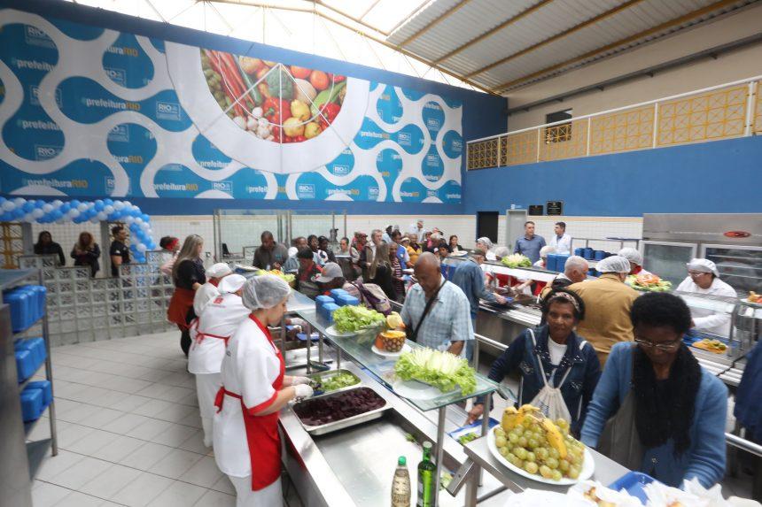 Restaurante popular de Bangu