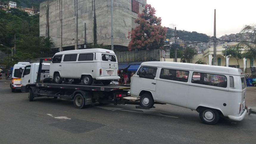 Seop realizou mais uma operação para coibir transporte ilegal na cidade. Foto: divulgação