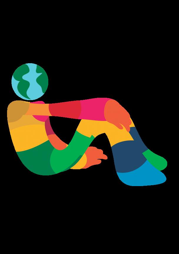 O Susteco, mascote do Plano de Desenvolvimento Sustentável