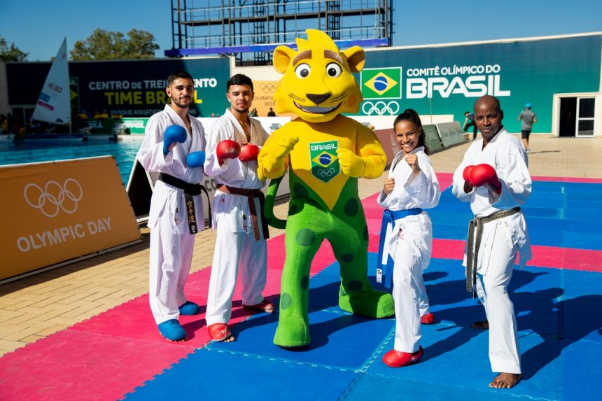 Alunos de escolas da Prefeitura aproveitam Dia Olímpico no Parque Maria Lenk