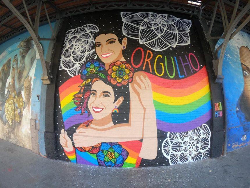 Novo painel na Orla Conde. Prefeitura / Divulgação