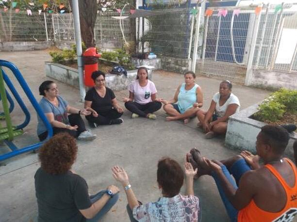 Meditação semanal na CF Maria Sebastiana de Oliveira