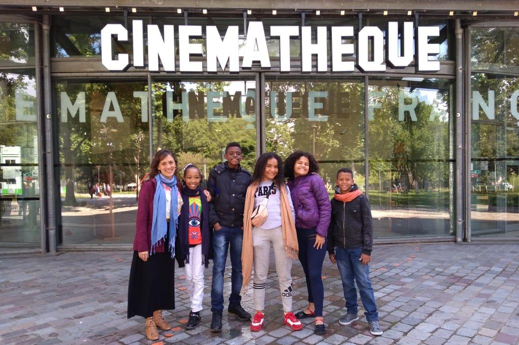 Alunos de escolas da Prefeitura viajam para Paris e participam do Encontro da Cinemateca Francesa