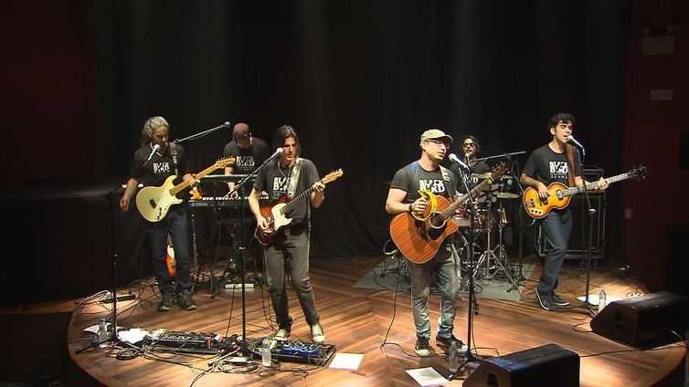 A Black Bird, uma das bandas cover dos Beatles mais conceituadas do Brasil, se apresenta em Bangu. Foto: divulgação