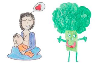 """Alunos de escolas da Prefeitura do Rio criam mascotes do projeto """"Amamenta – Alimenta Rio 2019"""""""