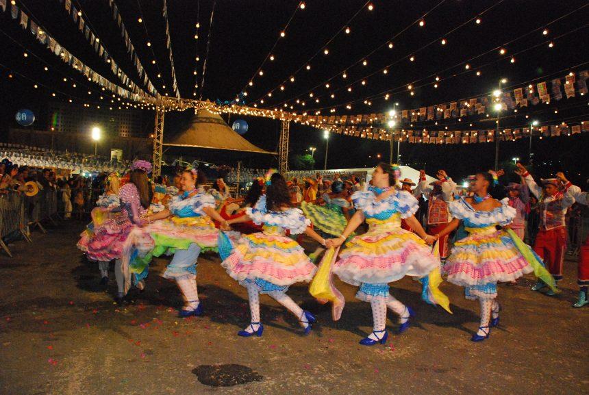 Arraiá na Areninha Gilberto Gil, em Realengo. Foto: divulgação
