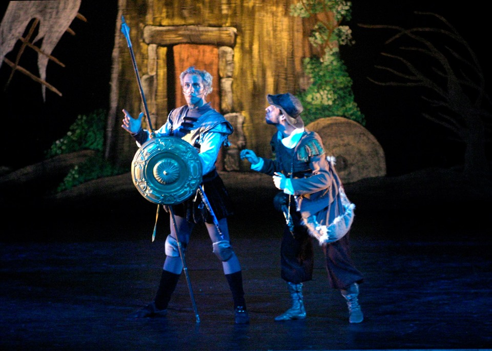 O espetáculo Don Quixote estreia neste fim de semana no Teatro Municipal Carlos Gomes, no Centro. Foto: divulgação