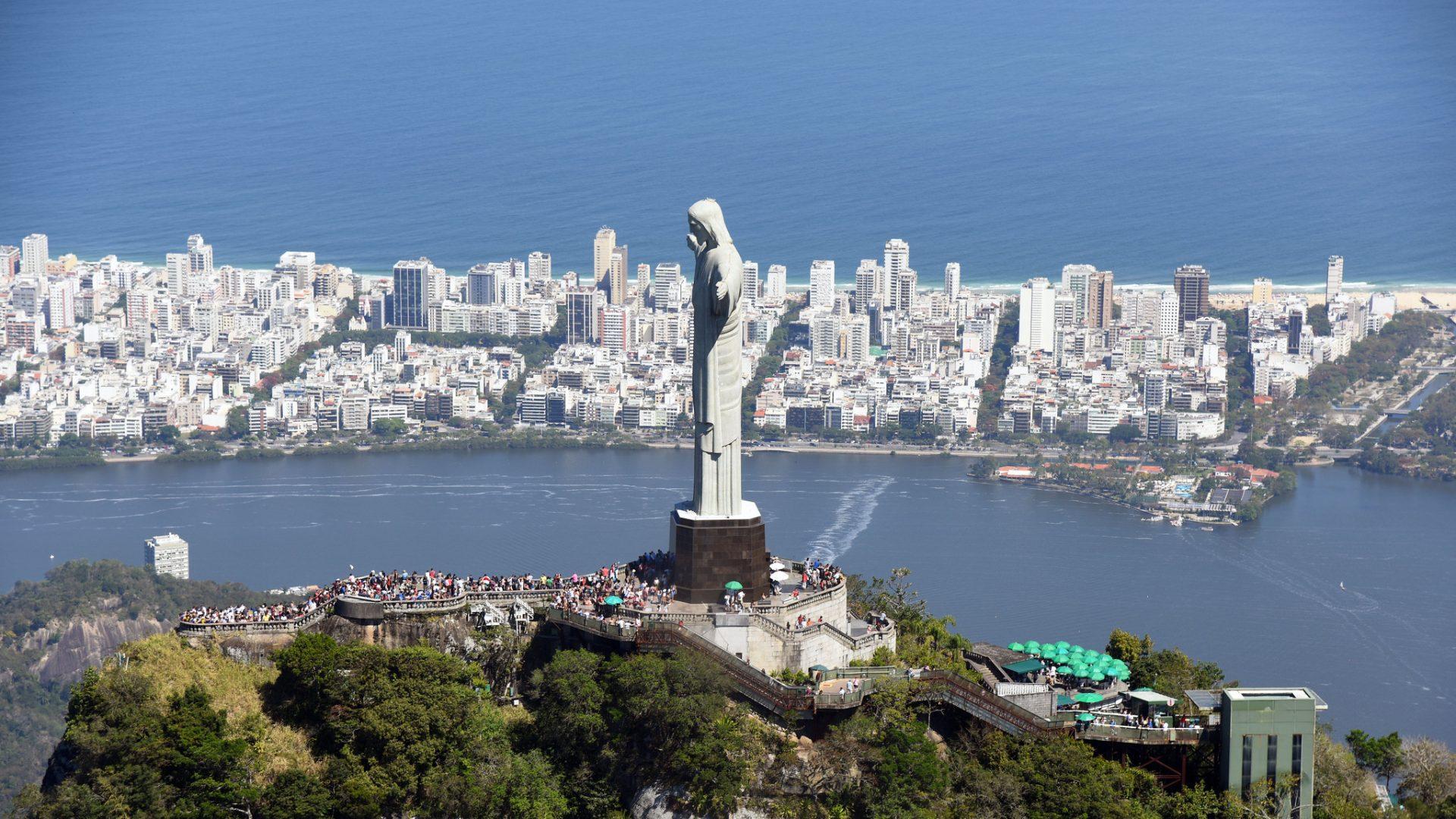 Cristo Redentor: Rio, Capital Mundial da Arquitetura. Foto: Michel Filho / Prefeitura do Rio
