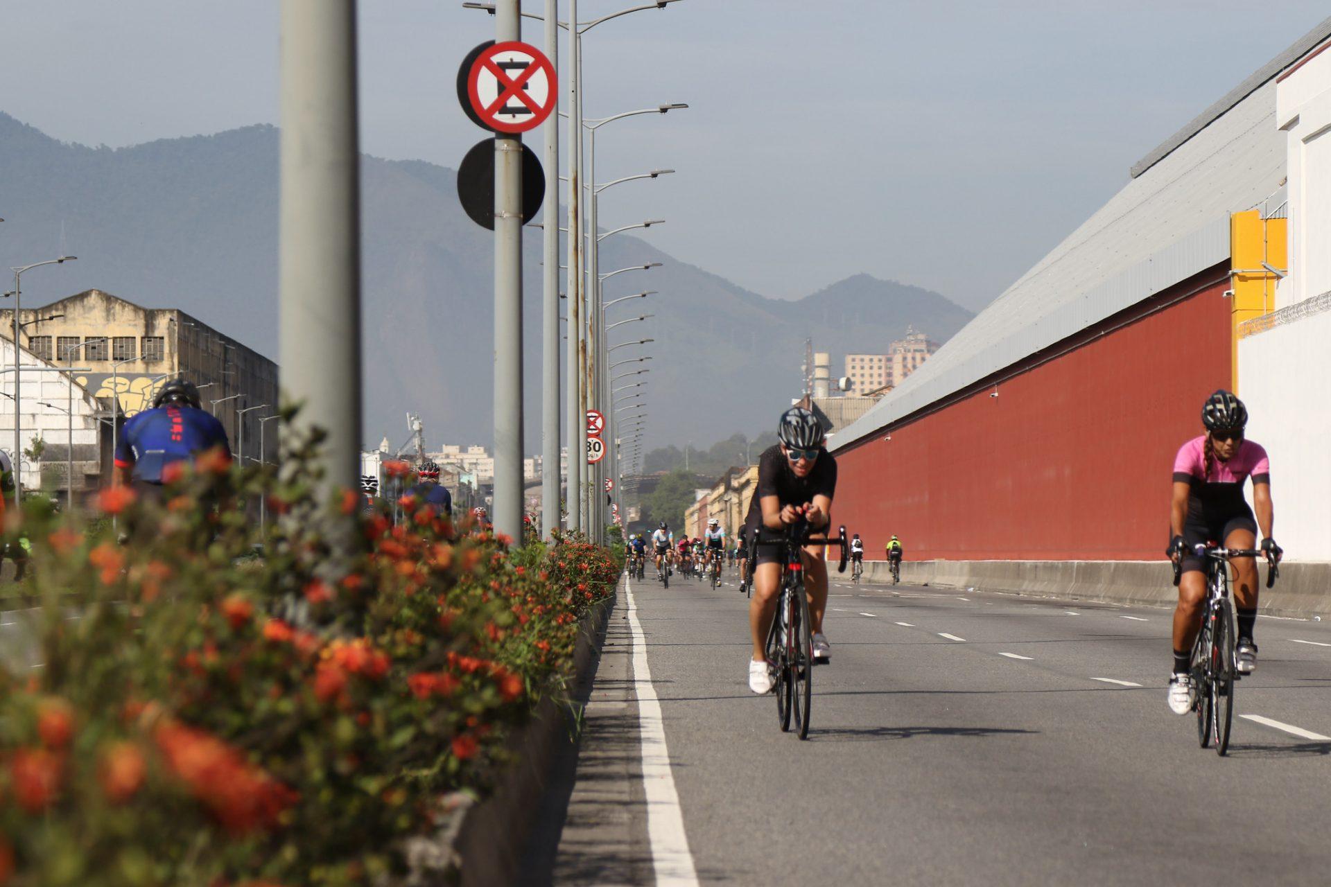Circuito Marcos Hamas: área de treinamento para ciclistas no Porto Maravilha. Foto: Hudson Pontes / Prefeitura do Rio