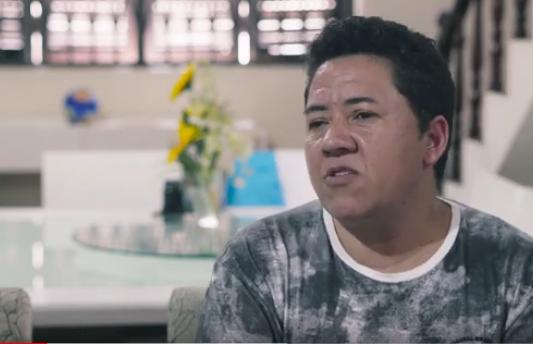 Glauco, o primeiro pai trans a obter licença paternidade na Prefeitura do Rio. Foto: reprodução de vídeo