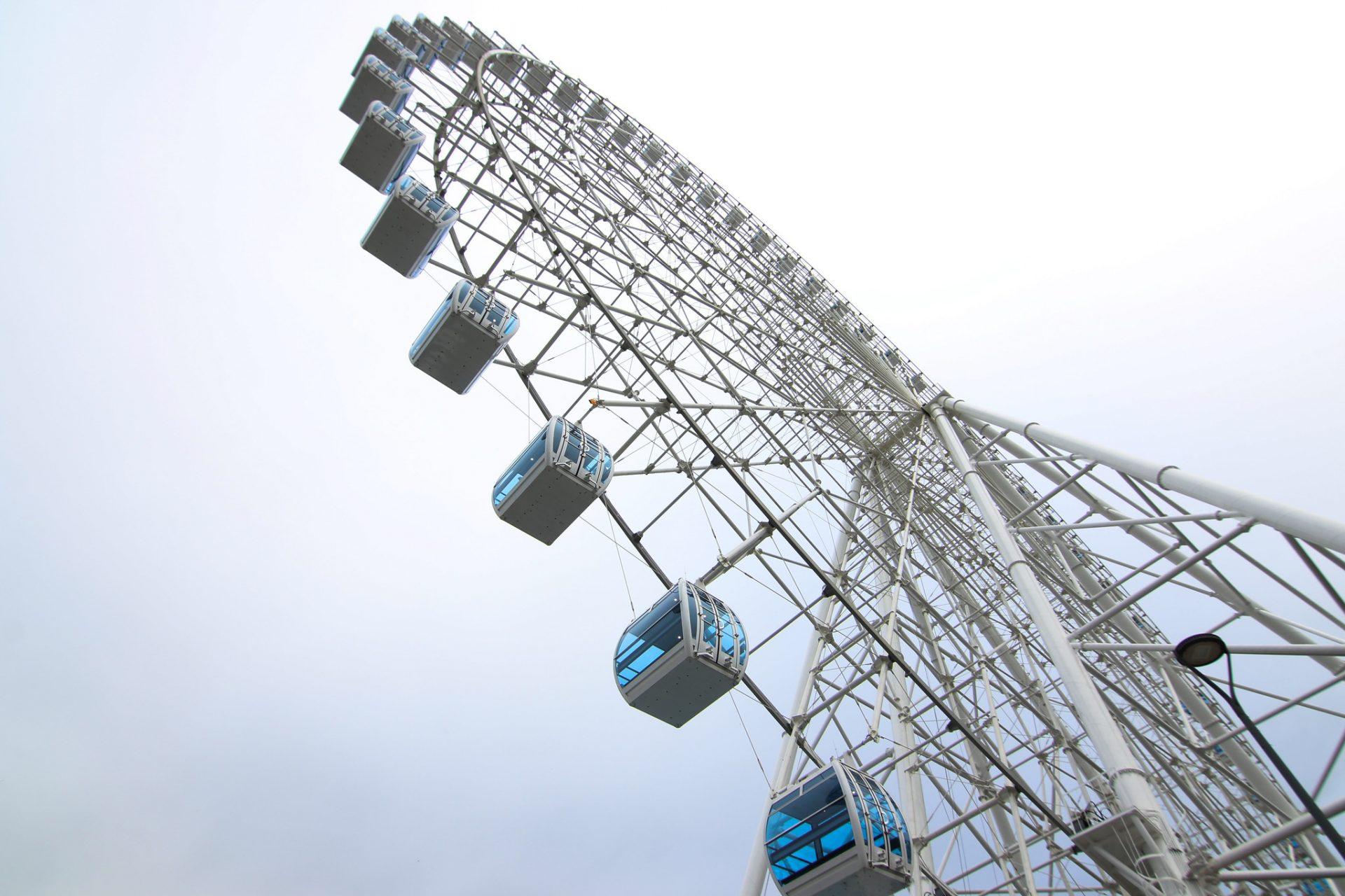 Roda gigante Rio Star. Foto: Hudson Pontes / Prefeitura do Rio