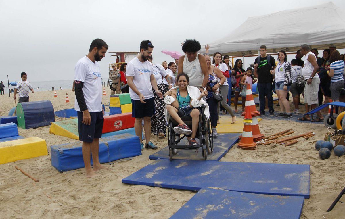 Projeto Acessibilidade Carioca, em Copacabana