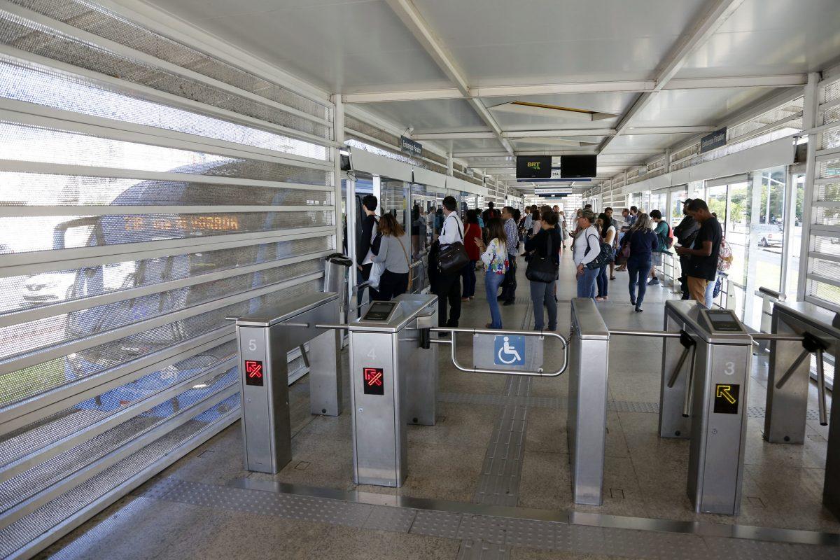BRT é o melhor meio de transporte para o Rock In Rio. Foto: Marcos de Paula / Prefeitura do Rio