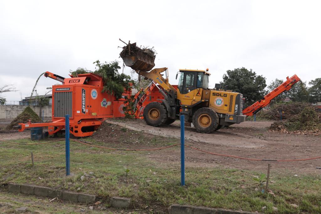 EcoParque do Caju: estação da Comlurb tem equipamentos doados por cidade na Alemanha. Foto: divulgação