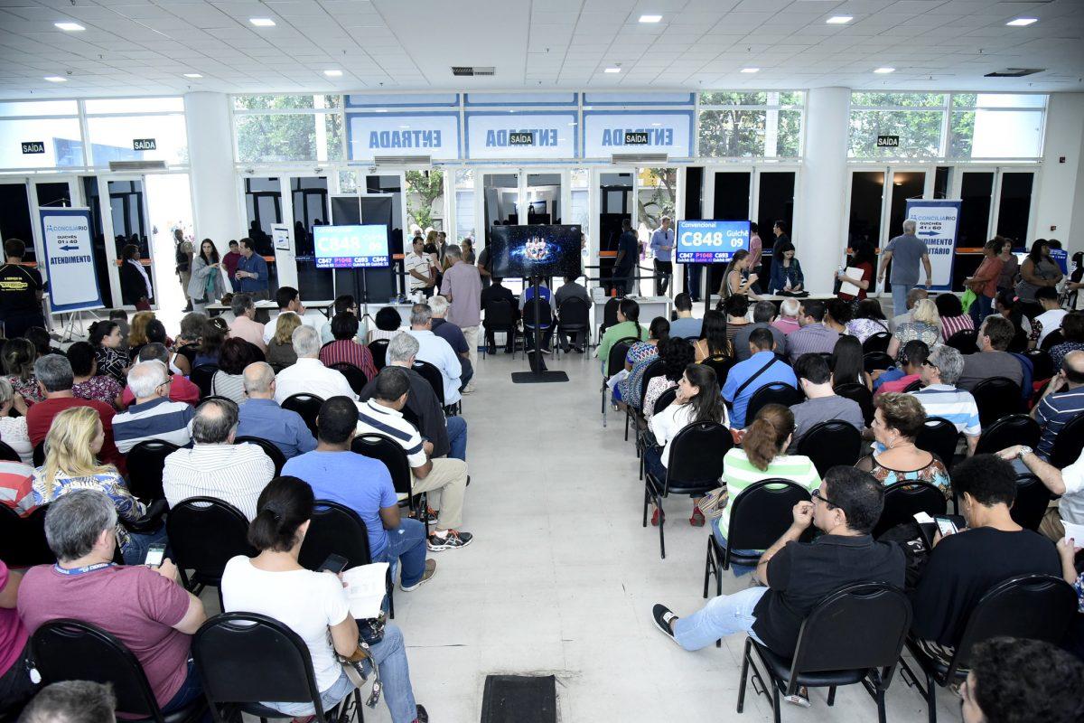 Mutirão do Concilia em setembro de 2018. Foto de arquivo: Richard Santos / Prefeitura Rio