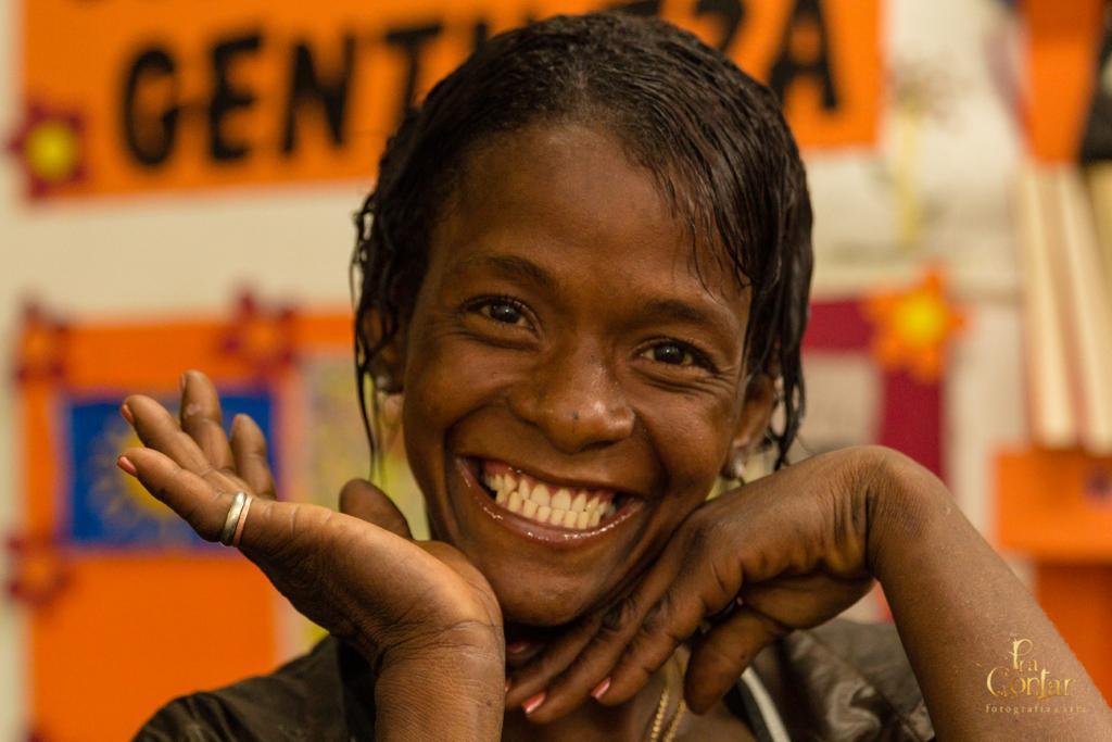 Desculpe Incomodar - Arte para Pessoas em Situação de Rua é um programa que resgata a autoestima de pessoas invisíveis para a maior parte da sociedade. Foto: Fabrício Brito Goyannes / Pra Contar Fotografia e Arte