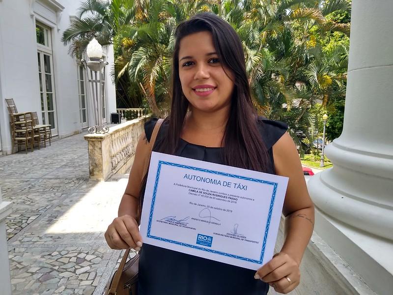 Prefeitura distribui 70 novas autonomias de táxi Fotos: Marcos de Paula/Prefeitura do Rio