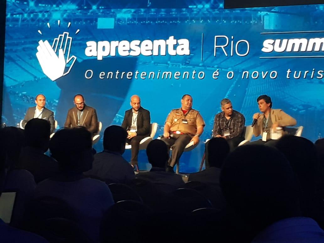 Novidade sobre comitê para preparar lei que atrairá grandes eventos ao Rio de Janeiro foi anunciada durante o Apresenta Rio Summit, em Copacabana. Foto: divulgação / Prefeitura do Rio