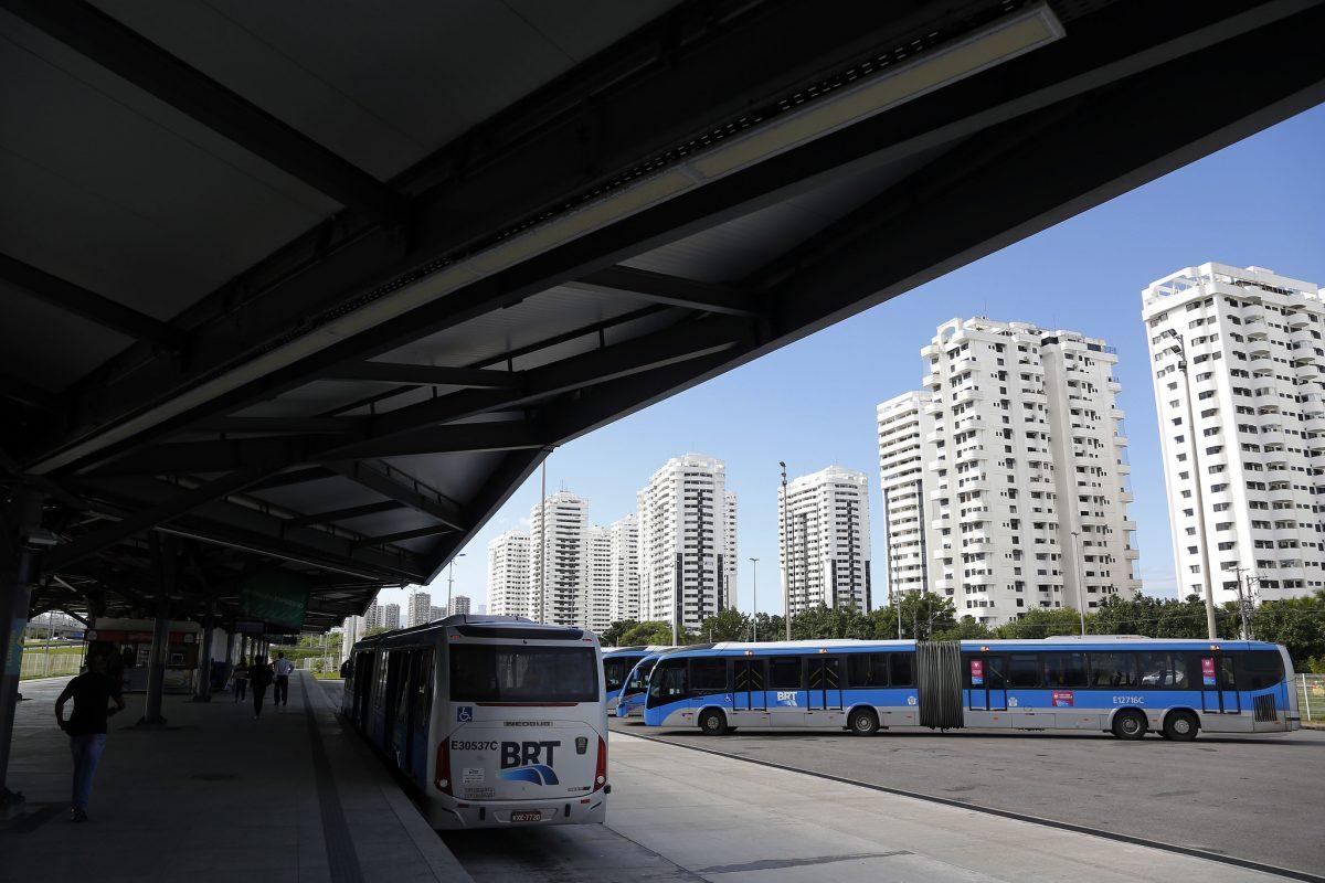 BRT: melhor meio de transporte para chegar ao Rock In Rio. Foto: Marcos de Paula / Prefeitura do Rio