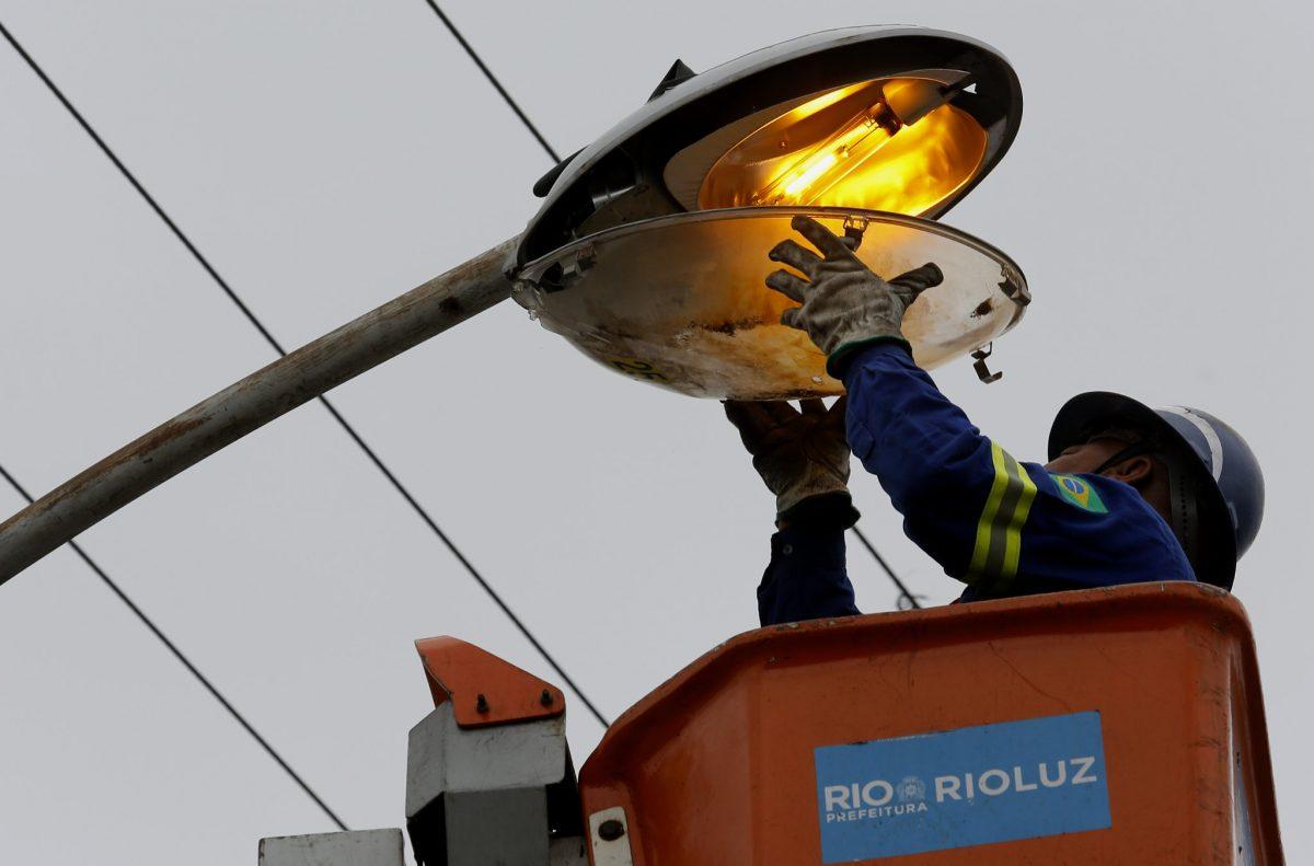 A PPP da Iluminação Pública vai modernizar 450 pontos de luz e levar também pontos de wi-fi à cidade do Rio de Janeiro. Foto: Marcos de Paula / Prefeitura do Rio