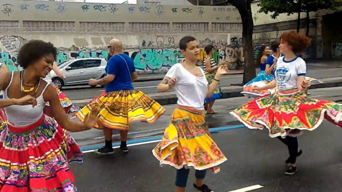 Cortejo Tia Ciata, tradicional no Dia Nacional da Consciência Negra. Foto: divulgação