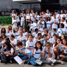 Clube do BRTzinho leva cultura e conhecimento para alunos de escola municipal