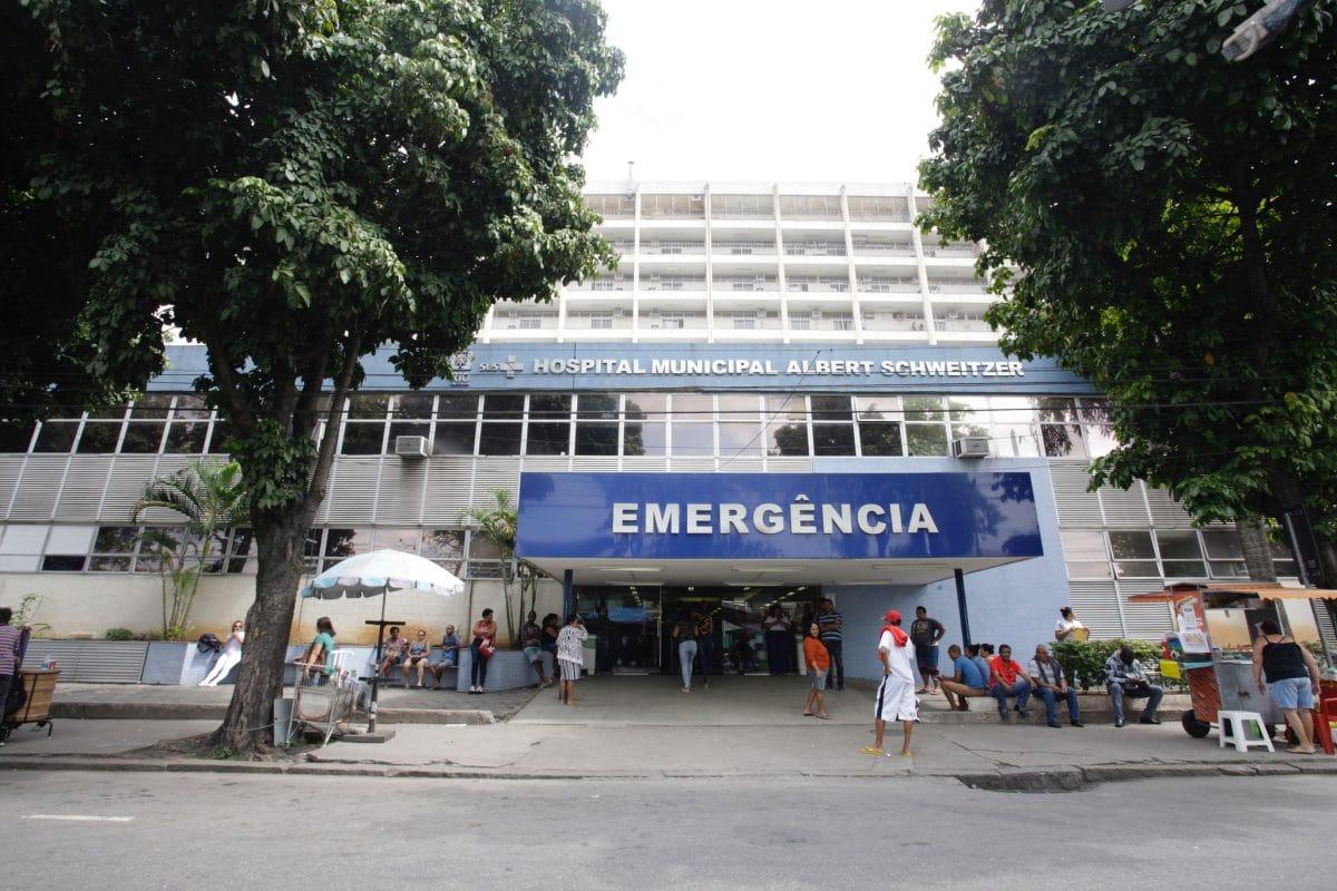 Fachada do Hospital Albert Schweitzer. Foto: Mariana Ramos / Prefeitura do Rio