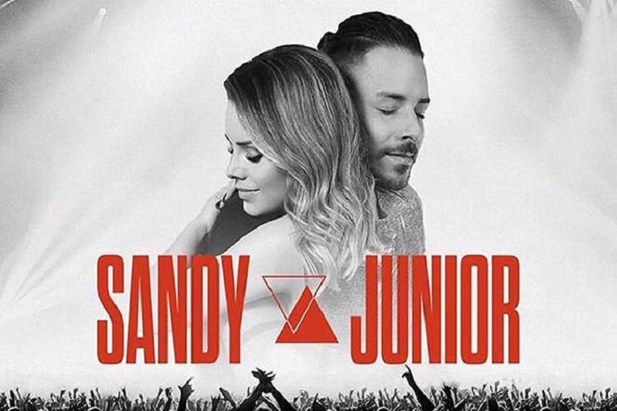 Imagem oficial de divulgação do show de Sandy e Junior. Foto: reprodução do site http://sandyejunior.com.br/