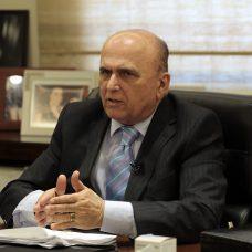 O conselheiro do TCM José Moraes. Foto: Marcos de Paula/Prefeitura do Rio
