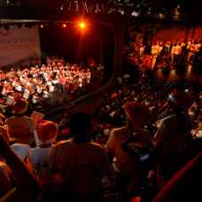 Concerto de Natal, com alunos da Rede Municipal e aberto à população, vai agitar a sede da Prefeitura no dia 3/12