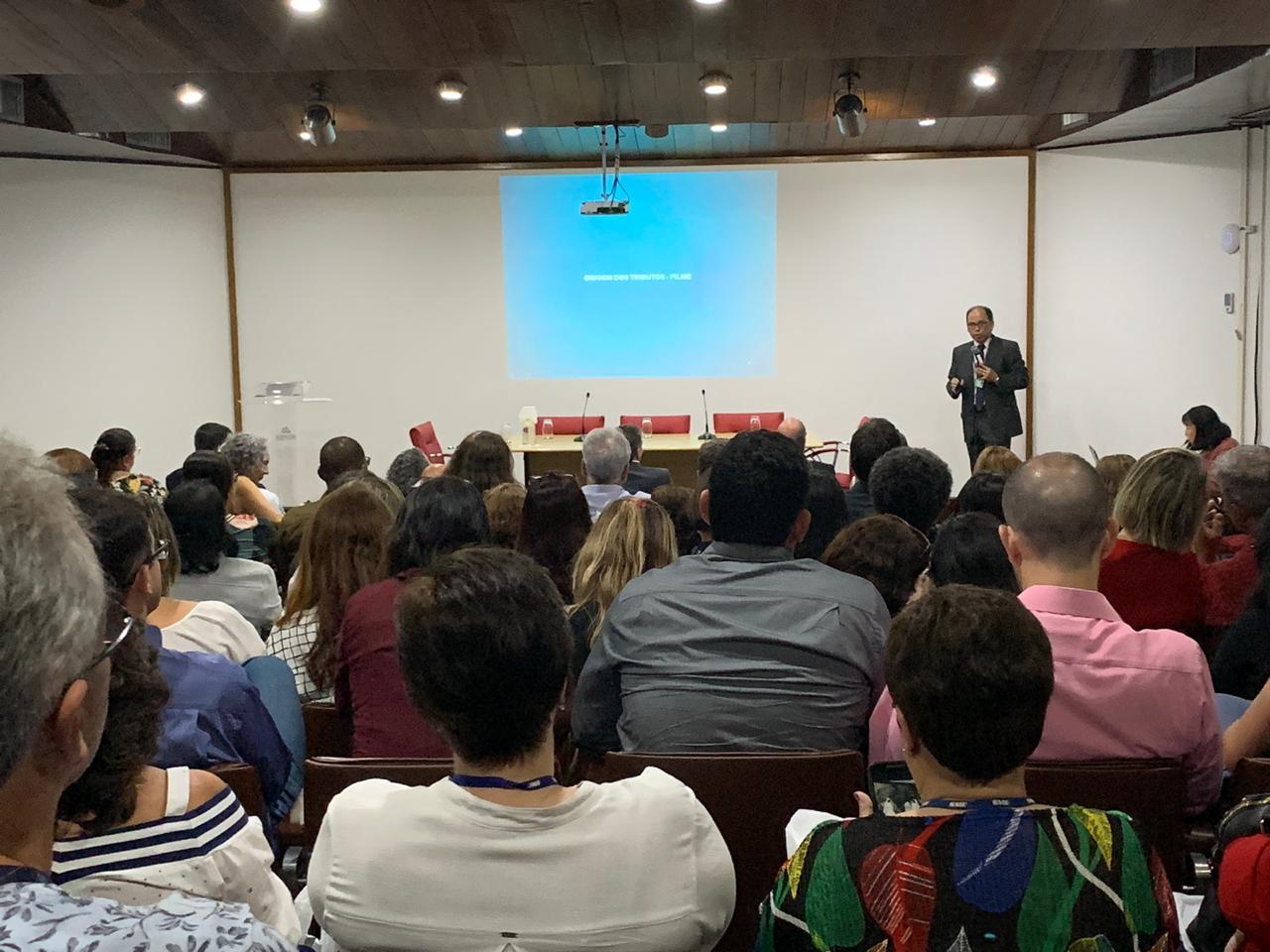 1º Seminário de Educação Fiscal da Prefeitura aconteceu no Arquivo Geral da Cidade (Foto: Divulgação SMF)