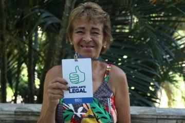 Lídia trabalha há 20 anos como ambulante na Freguesia, em Jacarepaguá. Foto: Hudson Pontes / Prefeitura do Rio