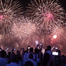 Réveillon em Copacabana: em 2020, o maior e melhor do mundo estará ainda mais grandioso. Foto: Gabriel Monteiro / Riotur
