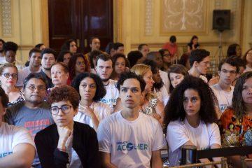 Cerimônia foi realizada no Palácio da Cidade, em Botafogo. Fotos: Rhavinne Vaz/ Prefeitura do Rio