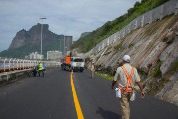Prefeitura vistoria obras da Av. Niemeyer e Fotos Marco Antônio Rezende/Prefeitura do Rio