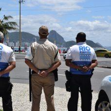 Agentes do Rio+Seguro. Foto: Divulgação / Guarda Municipal