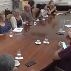 Presidentes de associações de moradores da Zona Sul são recebidos no Palácio da Cidade