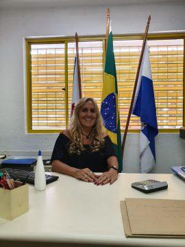 Sara de Carvalho Castro, diretora da Escola Municipal Roberto Burle Marx