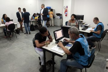 O atendimento no CMTE da Freguesia começou imediatamente após a inauguração. Foto: Marcos de Paula / Prefeitura do Rio