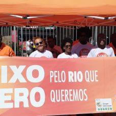 Campanha Lixo Zero leva conscientização sobre descarte de resíduos. Foto: Comlurb