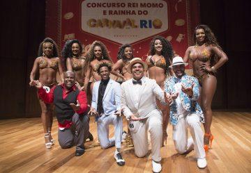 Abertura terá a final do concurso da Corte Real da folia. Foto: Fernando Maia | Riotur