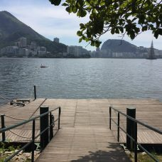 Revitalização da Lagoa Rodrigo de Freitas inclui reforma dos decks. Foto: Marco Antônio Rezende / Prefeitura do Rio