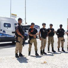 Guarda Municipal no Réveillon 2020. Foto: divulgação