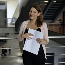 A paranaense Antoniele Ribeiro Jandozo