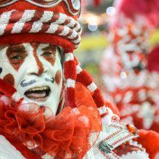 Integrante da Viradouro, escola campeã do carnaval 2020