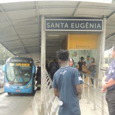 A estação Santa Eugênia reabriu nesta quarta-feira. Foto: Divulgação / Prefeitura do Rio